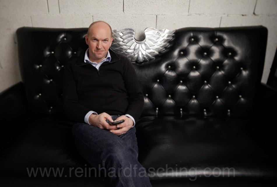 Kajo Bächle, Portrait photographed by Reinhard Fasching, Bregenz