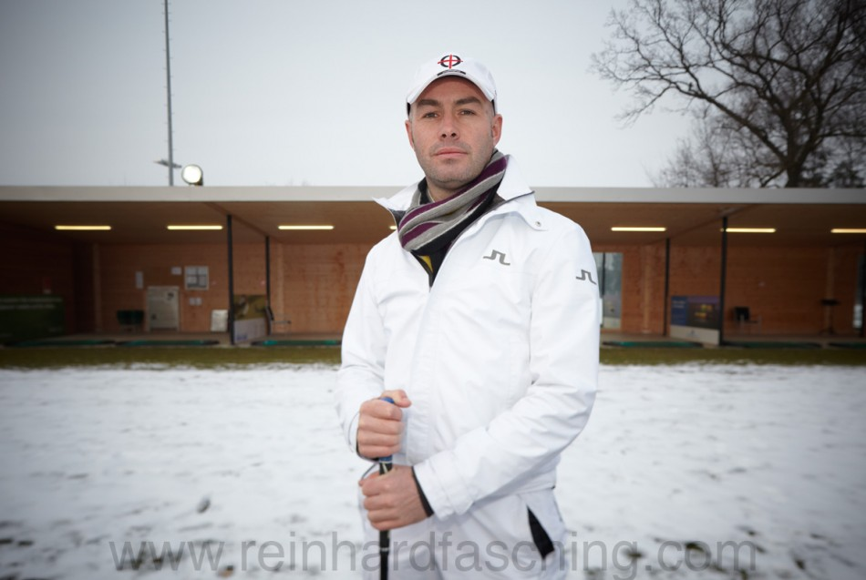 Reinhard Fasching fotografiert PGA Professional Michael Covention