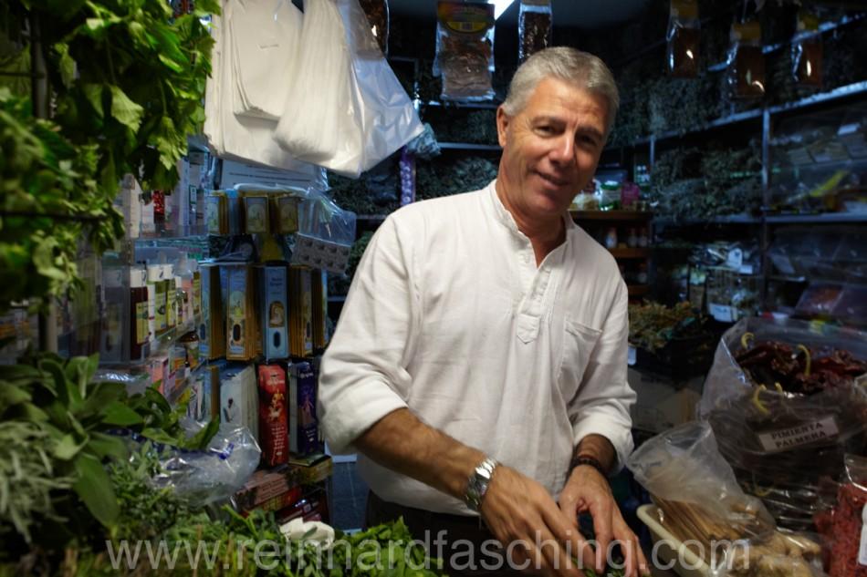 Salesman, Mercado de Las Palmas