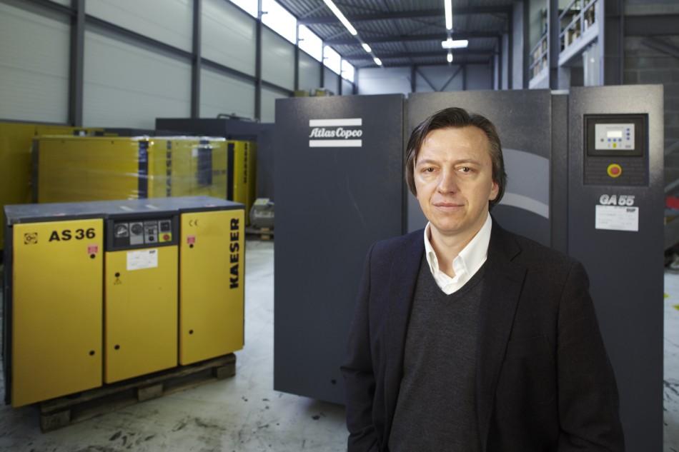 Mr. Dup, Owner DUP Compressors
