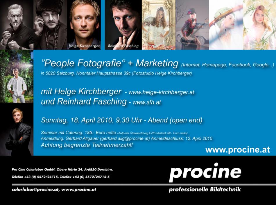 Helge Kirchberger und Reinhard Fasching, Pro Fotografen Workshop