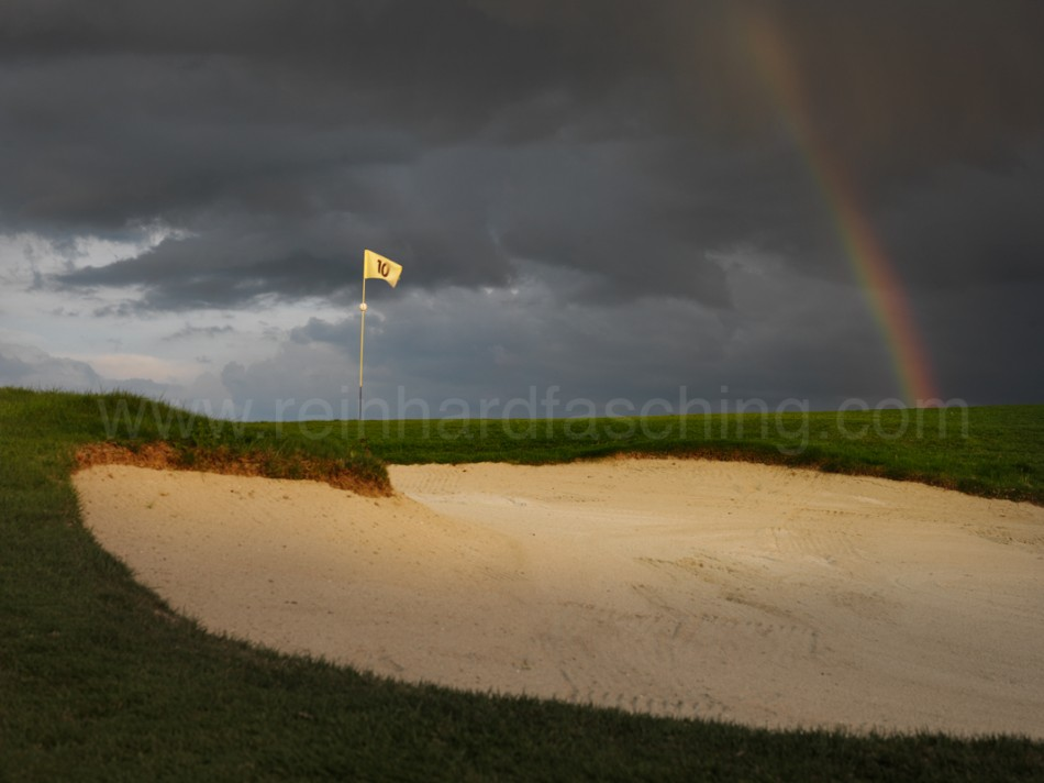Grünbunker am Bodensee Weissensberg Golfclub