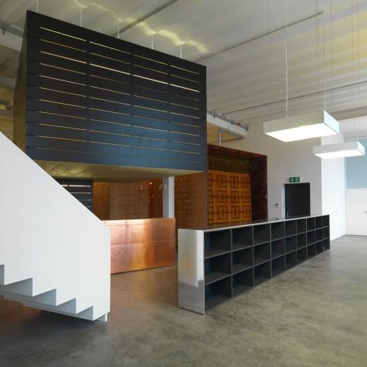 Eingangsbereich des SFH Images Studios