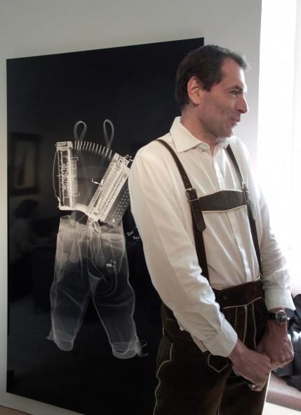 Bestrahlte Lederhose mit Christian Jungwirth
