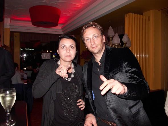Partypeople, Sabine mit Helge