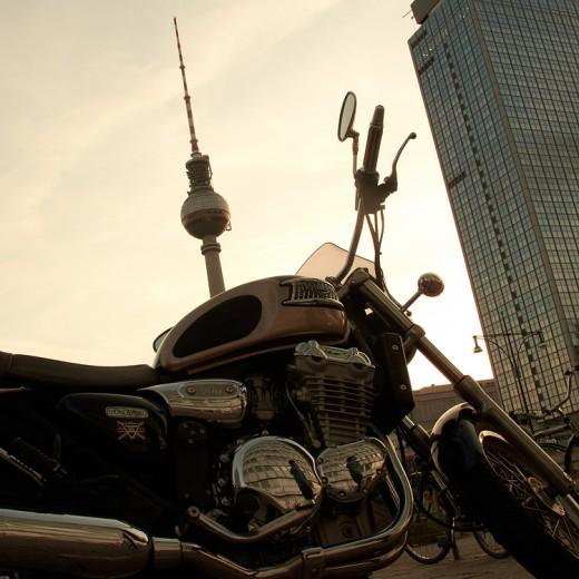Moped mit Turm