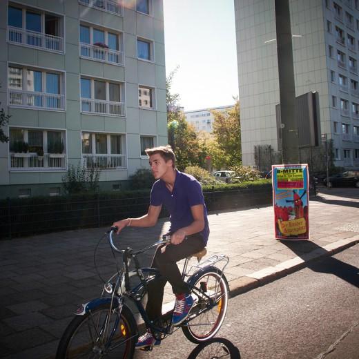 Cruising, die beste Art in Berlin vom Fleck zu kommen