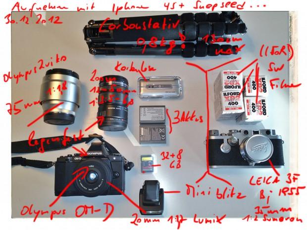 Olympus OM-D mit Leica 3f
