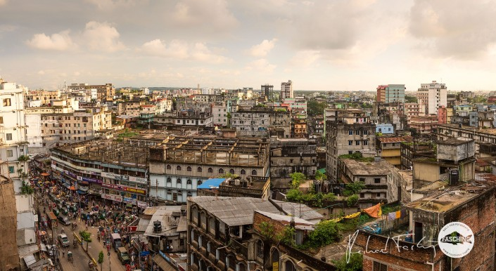 City View o Chittagong Cityview Evening Bangladesh
