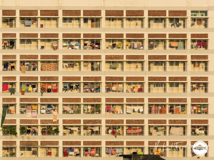 Building in Chittagong city, Bangladesh