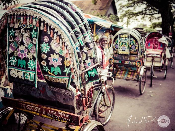 Rickshaw in Chittagong, Bangladesh