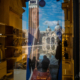 Mirror Girl, Piazza San Marco, Photographer Reinhard Fasching